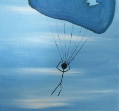 Holey Parachute, Batman!